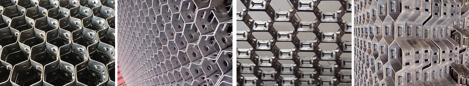 The picture shows hex steel products jigsaw.